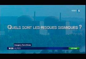 Les centrales nucléaires de Rhône-Alpes craignent-elles les séismes ?