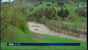 Pluies et inondations en Savoie : de gros dégâts à Flumet