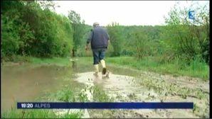 Pluies et inondations en Savoie : les agriculteurs en colère à Aiton