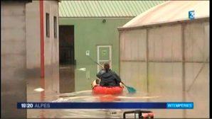 Crues et inondations en Savoie et Haute-Savoie