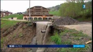 Inondations en Savoie: Flumet espère un classement en catastrophe naturelle