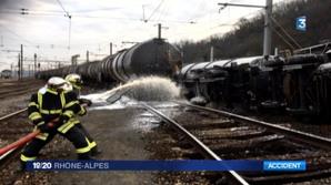 Rhône : déraillement d'un train, 20 tonnes de bioéthanol répandues