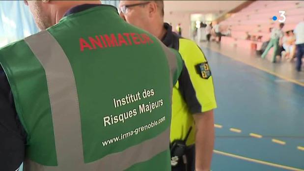 Isère : un quartier de Pont-de-Claix bouclé pour un exercice d'alerte inondation