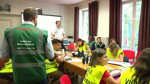 Un exercice Plan Communal de Sauvegarde grandeur nature à Gières (Isère)