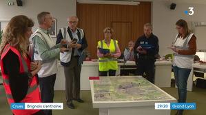 Exercice Plan Communal de Sauvegarde à Brignais