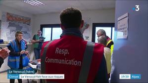 La commune du Versoud teste son Plan Communal de Sauvegarde