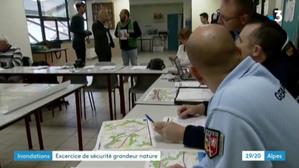 Inondation : un exercice de crise intercommunal à Saint-Clair-de-la-Tour et Saint-André-le-Gaz