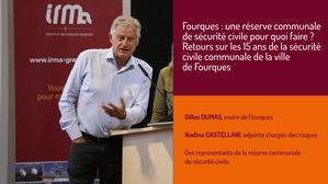 Fourques : une réserve communale de sécurité civile pour quoi faire ? Retours sur les 15 ans de la sécurité civile communale de la ville de Fourques