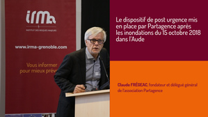 Le dispositif de post urgence mis en place par Partagence après les inondations du 15 octobre 2018 dans l'Aude