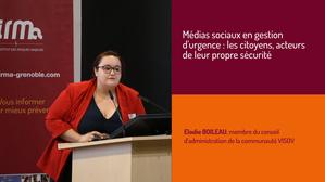 Médias sociaux en gestion d'urgence : les citoyens, acteurs de leur propre sécurité