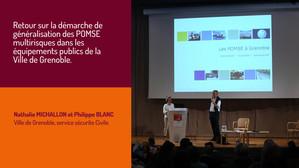 Retour sur la démarche de généralisation des POMSE multirisques dans les équipements publics de la Ville de Grenoble.