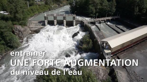 Calme apparent risque présent : les risques liés aux rejets d'eau des centrales hydroélectriques. Campagne d'information 2018